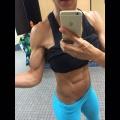 Girl with muscle - Jenn Ozari
