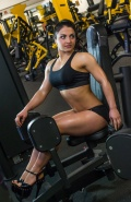 Girl with muscle - Nora Lobjanidze