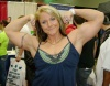 Girl with muscle - Sateash Berge