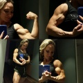 Girl with muscle - Klaudia Larson