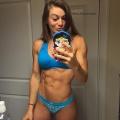 Girl with muscle - Caroline Priscila De Campos
