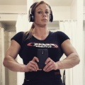 Girl with muscle - Trina Burns