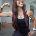 Girl with muscle - Danielle Waltman