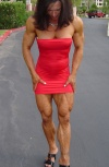Girl with muscle - Christine Sabo