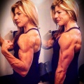 Girl with muscle - bethelightrn