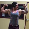 Girl with muscle - Zhoei Teasley