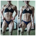 Girl with muscle - Rebecca Maunder
