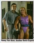 Girl with muscle - Hannie Van Aken