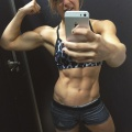 Girl with muscle - sara pearson