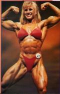 Girl with muscle - Rhonda Jorgenson