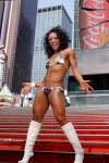 Girl with muscle - Tanji Johnson