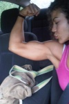 Girl with muscle - Melvia Villegas