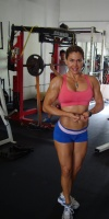 Girl with muscle - Cynthia Sharp
