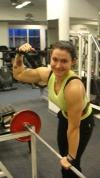 Girl with muscle - camilla
