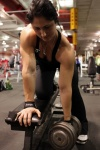 Girl with muscle - Alica Kavuljakova