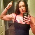 Girl with muscle - jennifer