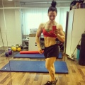 Girl with muscle - Satu Pekkarinen