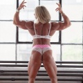 Girl with muscle - Julie Bourassa