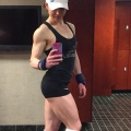 Girl with muscle - Katie Anne Rutherford