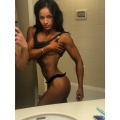 Girl with muscle - Victoria Puentes