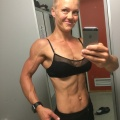 Girl with muscle - Riina Kivikoski