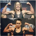 Girl with muscle - Liz Carmouche / Raquel Pennington