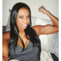 Girl with muscle - Melissa Carver