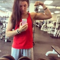 Girl with muscle - Katie Shrum