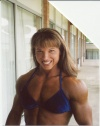 Girl with muscle - Lisa Bavington