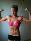Girl with muscle - emelie