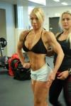 Girl with muscle - Anna Bomar, Helene Ahlson (back)