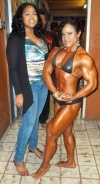 Girl with muscle - Kashma Maharaj