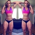 Girl with muscle - Rachael Frieza