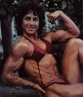 Girl with muscle - Theresa Jean Bell (Pillow)