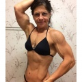 Girl with muscle - Gina Cavaliero