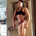 Girl with muscle - Annette Garcia