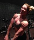 Girl with muscle - Tabitha Borland