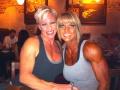 Girl with muscle - Dawn Haffner (L) - Sharee Davis (R)