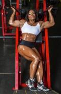 Girl with muscle - Juanita Blaino