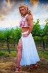 Girl with muscle - Monica Mark-Escalante
