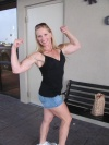 Girl with muscle - Margie Ciaccio