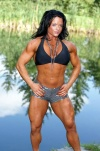 Girl with muscle - Carmen Tocheniuk