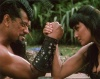 Girl with muscle - Lucy Lawless