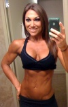 Girl with muscle - Melissa Merritt