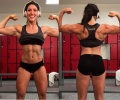 Girl with muscle - Katie Corio