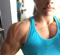 Girl with muscle - Jacquelyn Hickerson