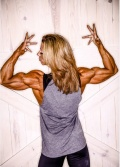 Girl with muscle - Fabiola Boulanger