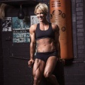 Girl with muscle - Tracey Guile