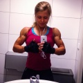 Girl with muscle - Sigrid Bye Skille