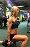 Girl with muscle -  Zsuzsanna Toldi